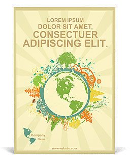 Environmental Ad Template