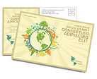 Environmental Postcard Template