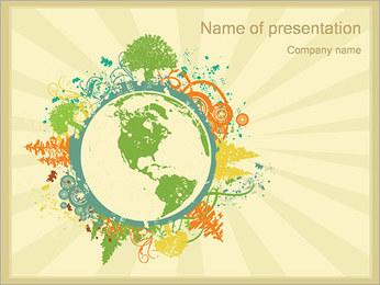 Окружающей среды Шаблоны презентаций PowerPoint