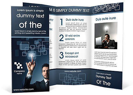 Technology Brochure Templates Designs For Download