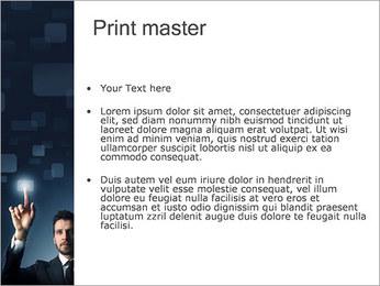 Bouton tactile Modèles des présentations  PowerPoint