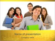 College Students PowerPoint Templates