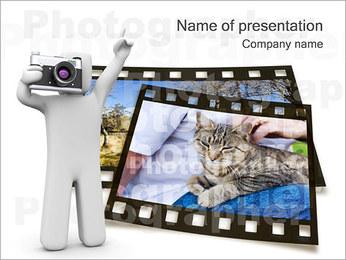 Fotograf Szablony prezentacji PowerPoint