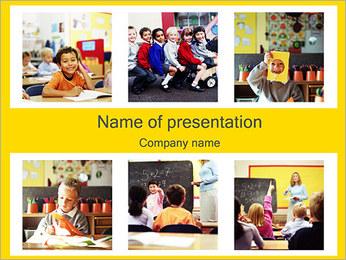 Leerproces Sjablonen PowerPoint presentatie