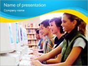Classe Computador Modelos de apresentações PowerPoint