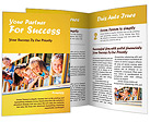Kids in School Bus Brochure Templates