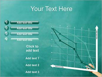 Writing on Chalkboard PowerPoint Template - Slide 13