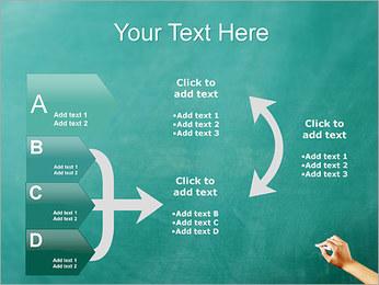 Writing on Chalkboard PowerPoint Template - Slide 16