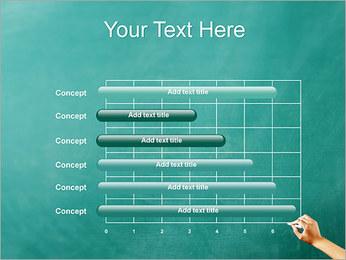 Writing on Chalkboard PowerPoint Template - Slide 17