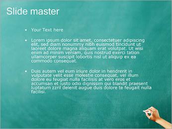 Запись на доске Шаблоны презентаций PowerPoint