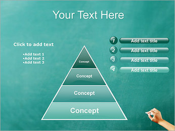 Writing on Chalkboard PowerPoint Template - Slide 22