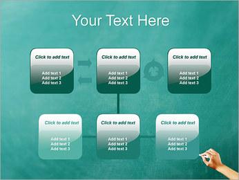 Writing on Chalkboard PowerPoint Template - Slide 23
