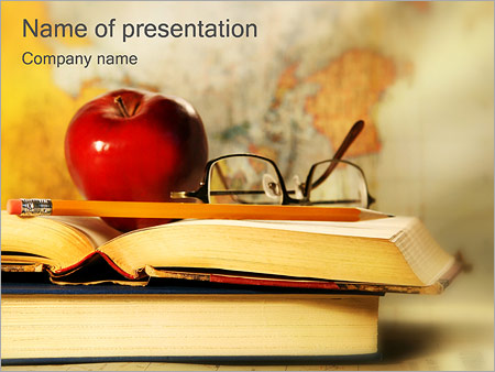 Writing Desk PowerPoint Template