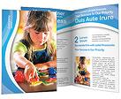 Little Girl Brochure Template