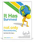 Carrying the Earth Poster Template