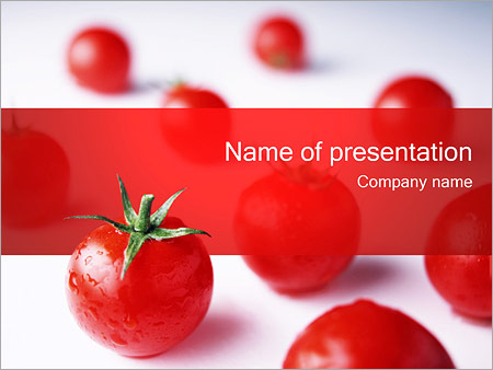 tomatoes powerpoint template backgrounds google slides id