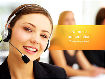 Kundsupport PowerPoint presentationsmallar