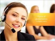 Atención al cliente Plantillas de Presentaciones PowerPoint