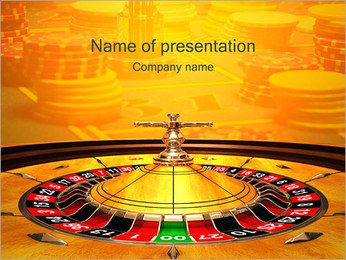 Roulette Wheel PowerPoint Template