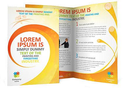 Creative Spiral Brochure Template