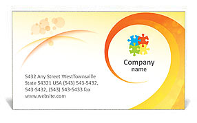 Creative spiral business card template design id 0000001051 creative spiral business card templates reheart Images