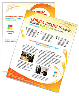 Creative Spiral Newsletter Template Design ID - Creative newsletter design templates