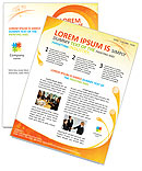 Creative Spiral Newsletter Template