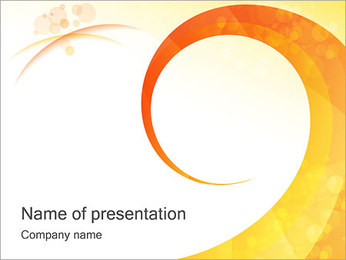 Creative Spiral PowerPoint Template