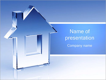 Glass House PowerPoint Template