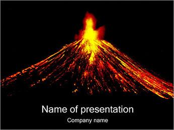 Volcan Modèles des présentations  PowerPoint - Diapositives 1