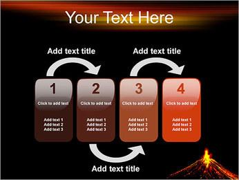 Volcan Modèles des présentations  PowerPoint - Diapositives 11