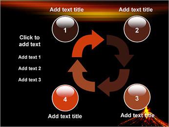 Volcan Modèles des présentations  PowerPoint - Diapositives 14