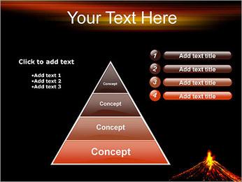 Volcan Modèles des présentations  PowerPoint - Diapositives 22