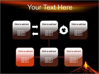 Volcan Modèles des présentations  PowerPoint - Diapositives 23