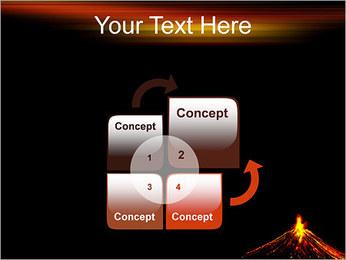 Volcan Modèles des présentations  PowerPoint - Diapositives 5