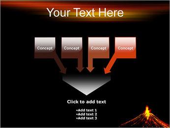 Volcan Modèles des présentations  PowerPoint - Diapositives 8