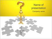 Puzzle Question PowerPoint Templates