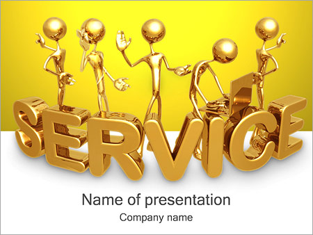 Gold service powerpoint template backgrounds id 0000001061 gold service powerpoint templates toneelgroepblik Choice Image