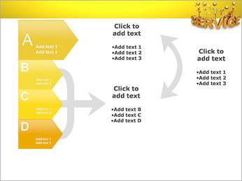 Serviço de Ouro Modelos de apresentações PowerPoint - Slide 16