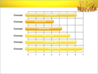 Serviço de Ouro Modelos de apresentações PowerPoint - Slide 17