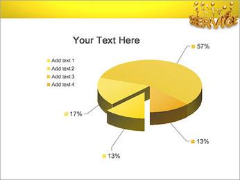 Serviço de Ouro Modelos de apresentações PowerPoint - Slide 19