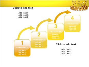 Serviço de Ouro Modelos de apresentações PowerPoint - Slide 20