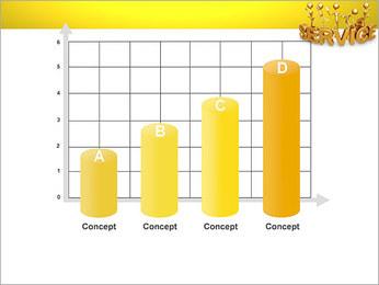 Serviço de Ouro Modelos de apresentações PowerPoint - Slide 21