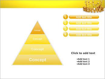 Serviço de Ouro Modelos de apresentações PowerPoint - Slide 22