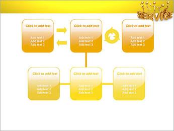 Serviço de Ouro Modelos de apresentações PowerPoint - Slide 23