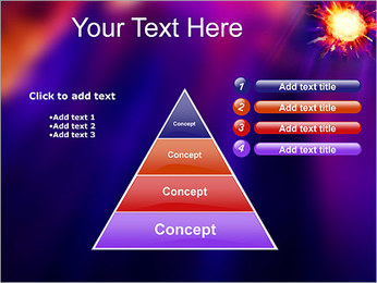 Explosion PowerPoint Template - Slide 22