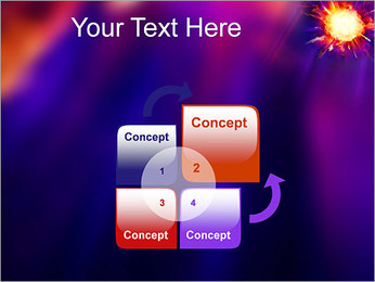 Explosion PowerPoint Template - Slide 5