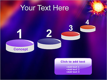 Explosion PowerPoint Template - Slide 7
