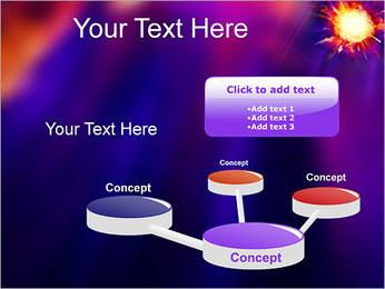 Explosion PowerPoint Template - Slide 9