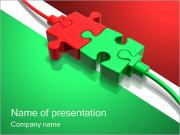Puzzle Connection PowerPoint Templates